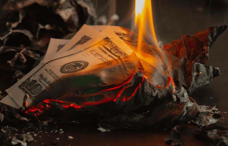 マーチンは資金管理が大幅に崩れる