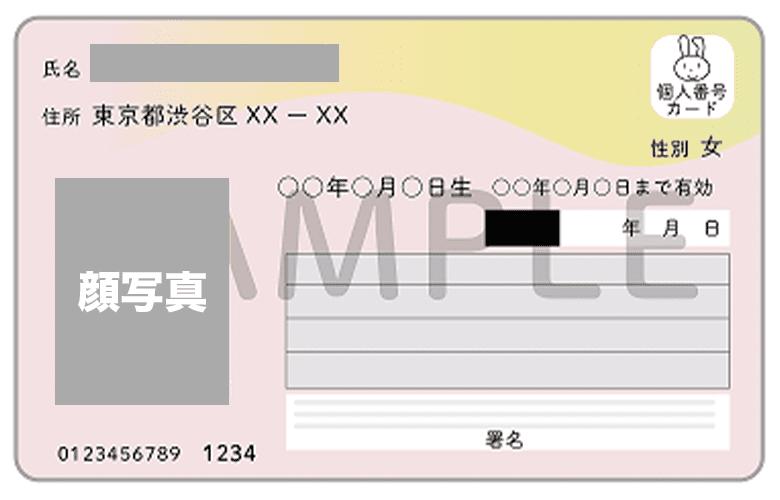 口座開設本人確認書類③「マイナンバーカードの撮影方法」